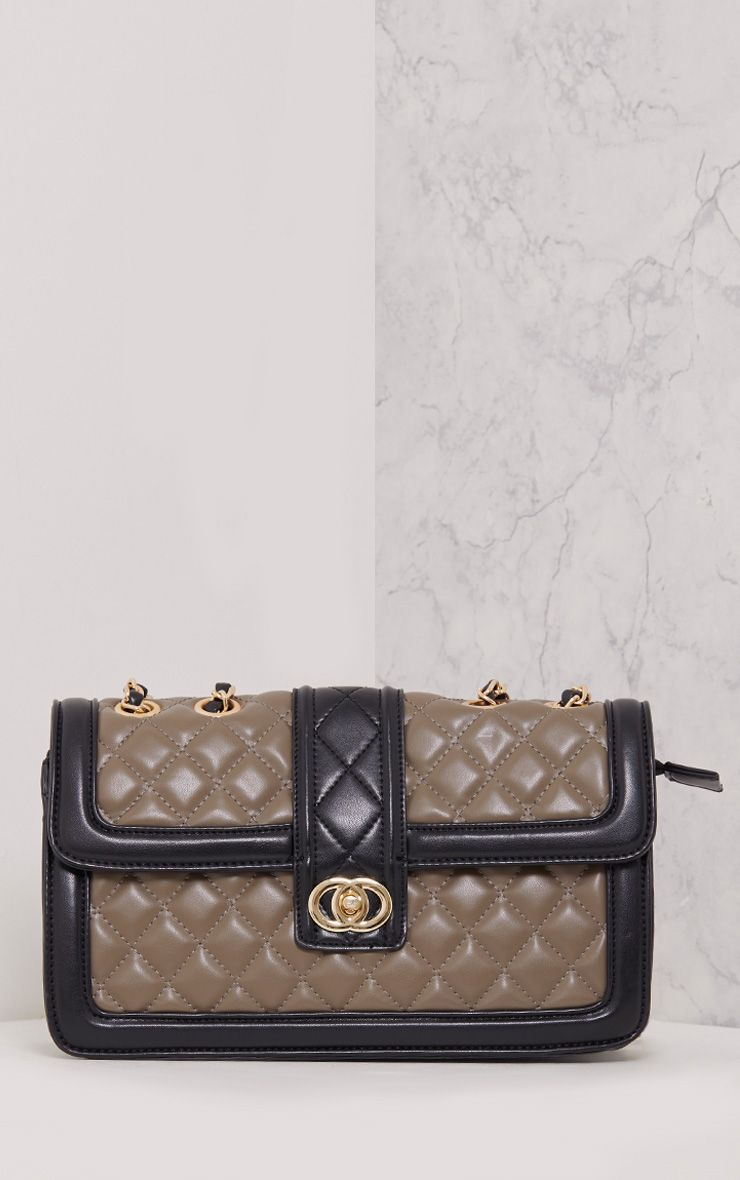 Wilney Grey Quilted Bag