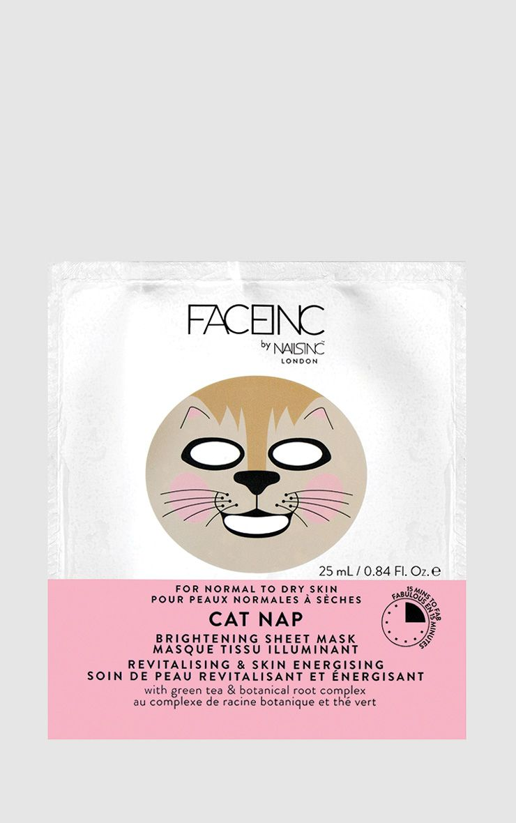 FACEINC By NAILSINC Cat Nap Face Mask