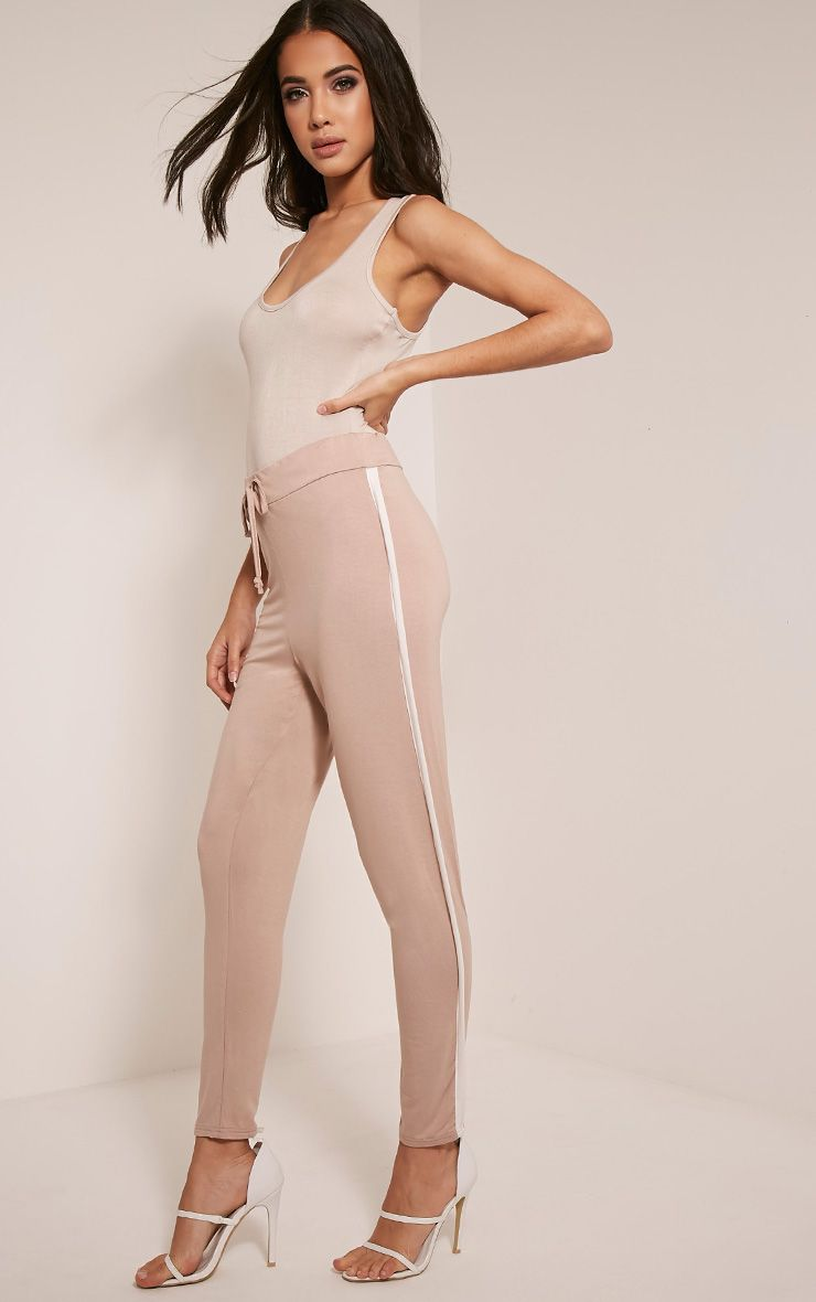 Lucinda Stone Contrast Piping Joggers