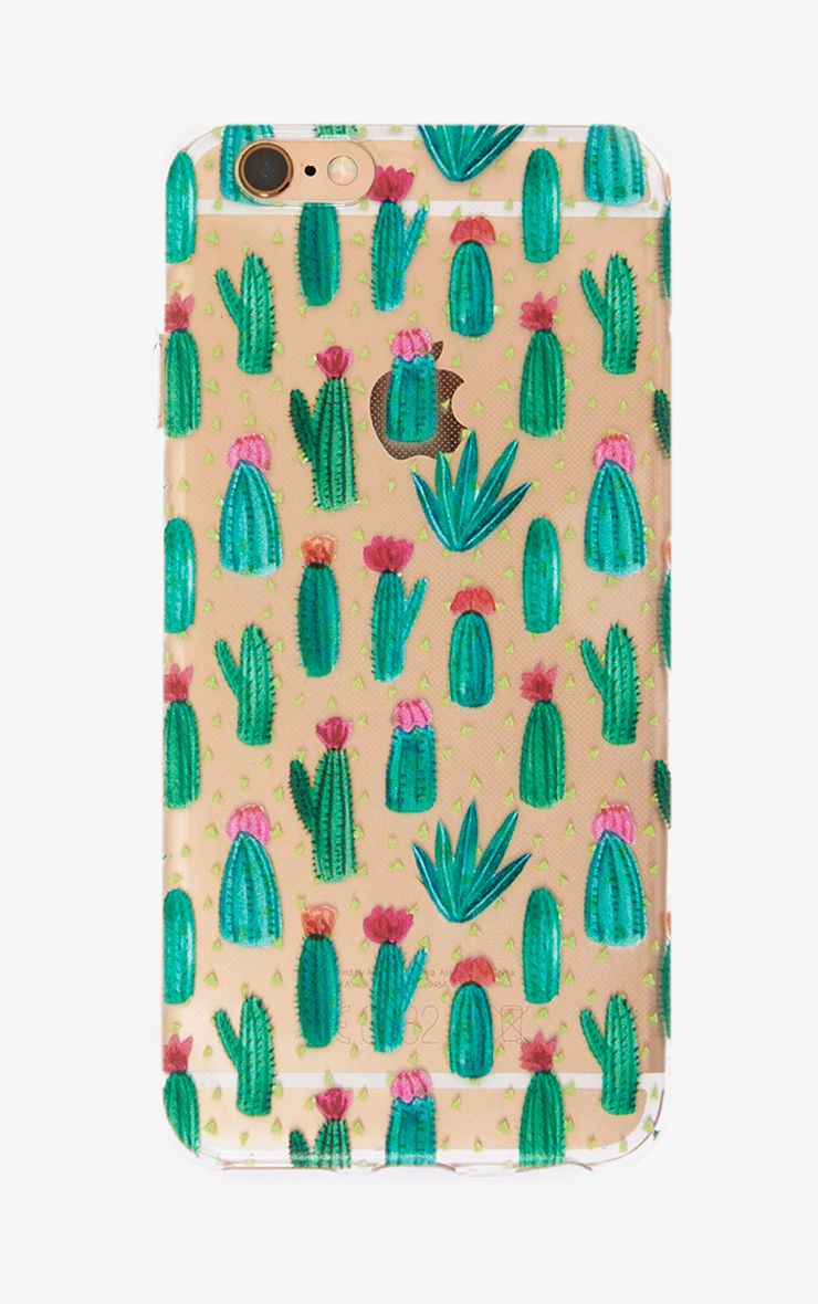 Green Cactus Phone Case
