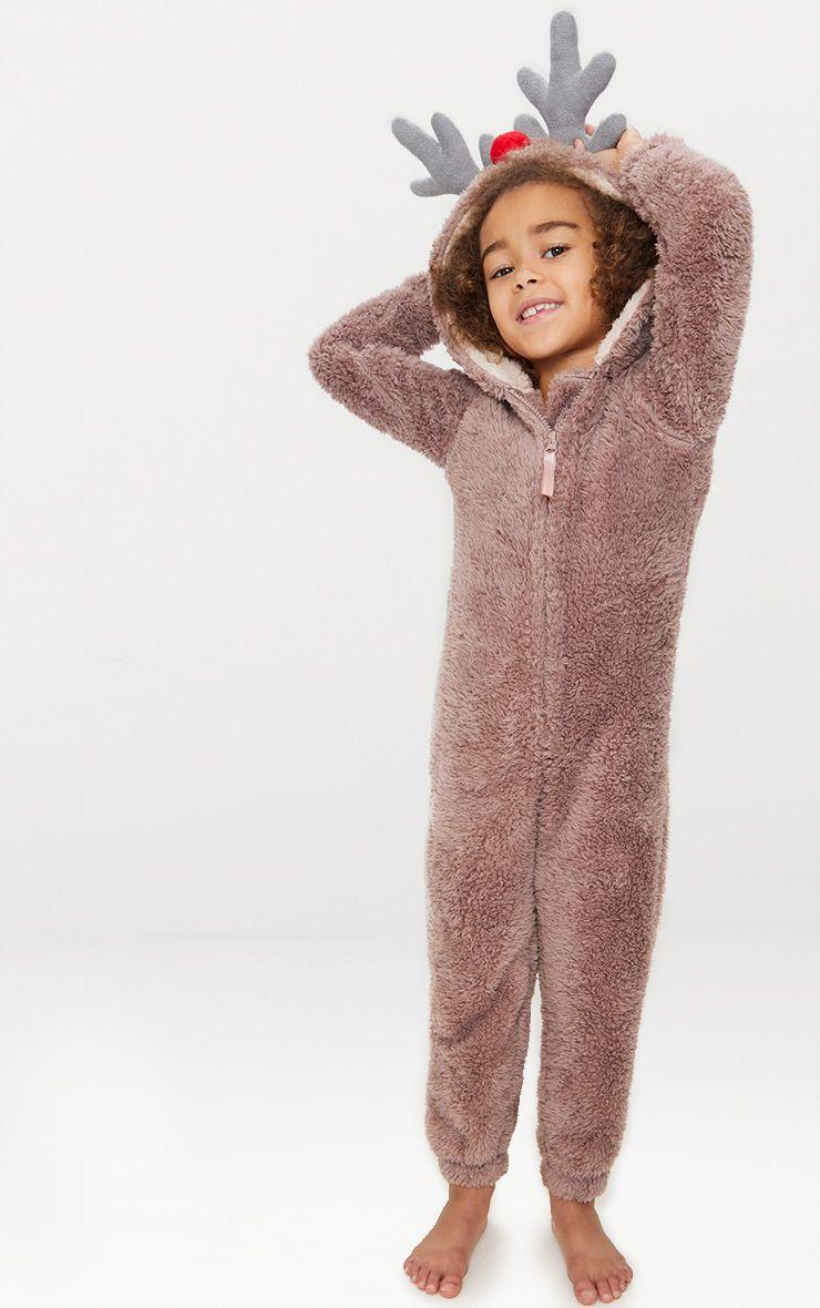 Reindeer Brown Onesie