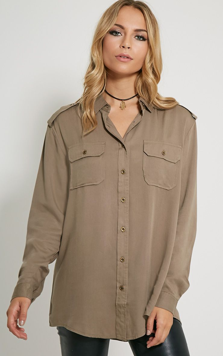 Marni Khaki Military Shirt 1