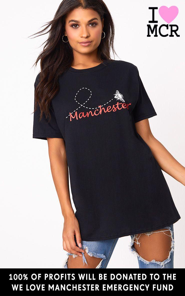 Black Bee Manchester Charity T Shirt 1