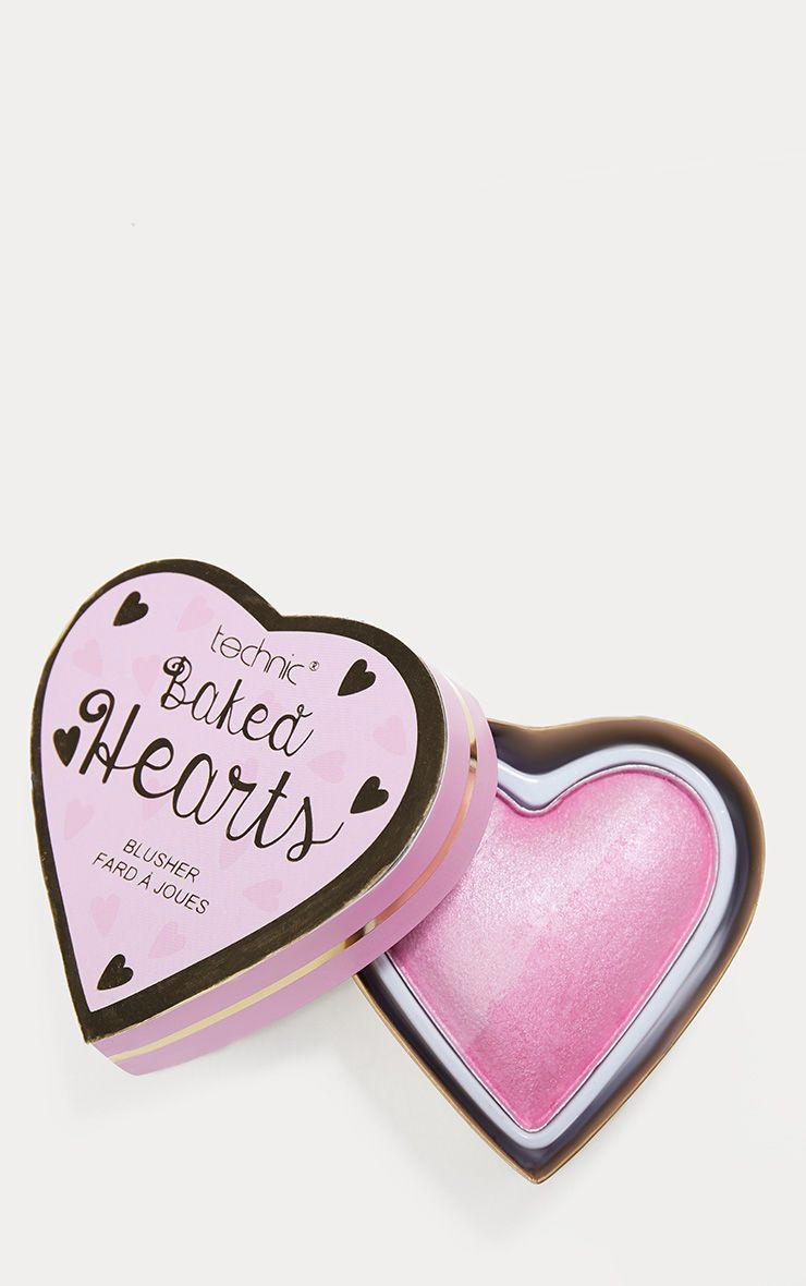 Technic Baked Hearts Blusher Highlighter 1