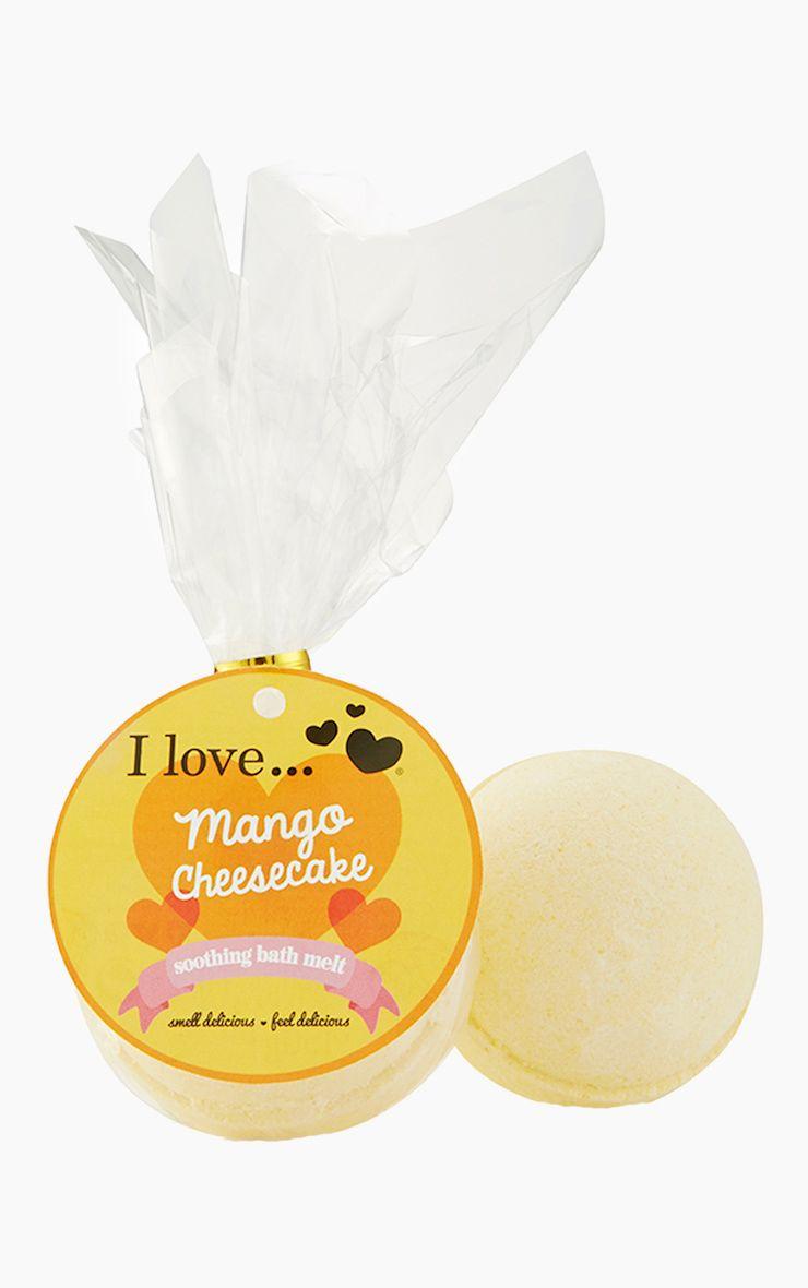 I Love Bath Melt Mango Cheesecake