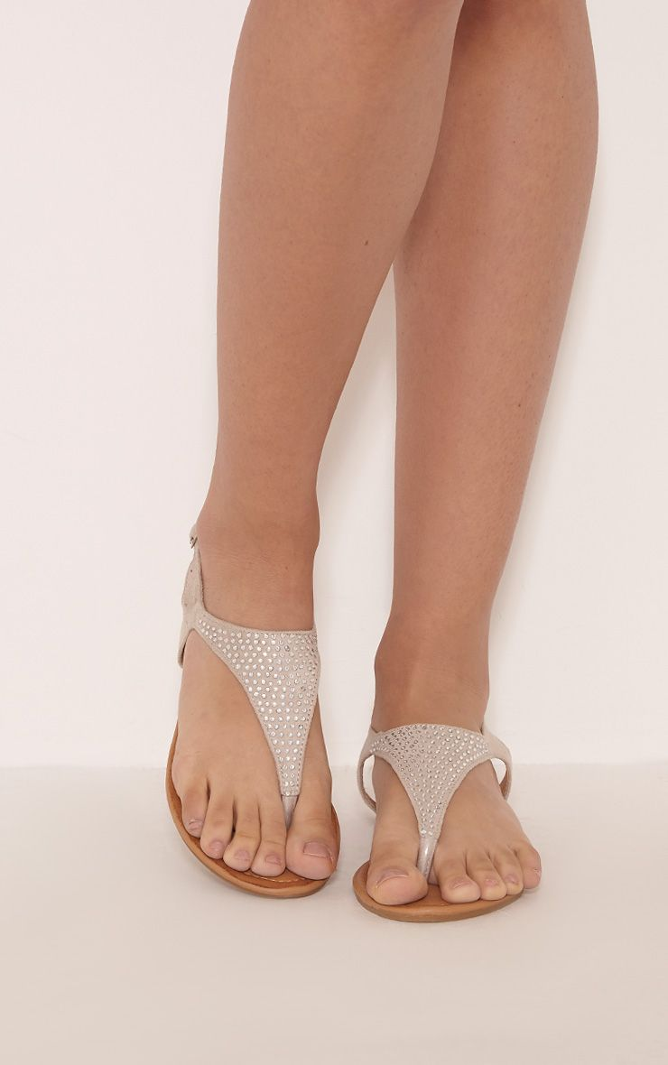 Kerina Stone Embellished Sandals 1